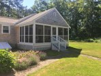 Restored Cape cottage with inviting screened porch-the best room in the house!