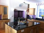 Fully equipped kitchen with Aga