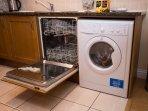 Dishwasher, Washing machine with tumble dryer
