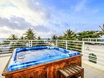 Ocean View Roof Deck with Jacuzzi and ocean view