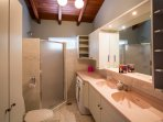 Private bathroom adjoining bedroom 2.