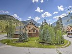 Enjoy breathtaking mountain views from the private patio!