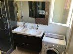 Salle de bain de la  Suite 1