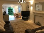 Supurb two bed garden apartment sleeps 4 penryn cornwall