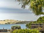 Enjoy bay views from the backyard!