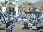 Watersong communal Gym Fitness Center.