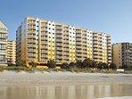 Gorgeous views of the beach, rooms are large, full kitchen has dishes and pots and pans.