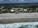 Beach aerial view from my Drone, See how close to the Beach !!
