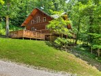 The 'Mane Stay Cabin' is the perfect place for your next Appalachian trip.