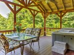 Experience a true Kentucky getaway at 'Sundance Cabin,' located in Red River Gorge, KY.