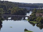 Just one of the stunning views, this is from the 19th Century Viaduct which spans the River Veinne.