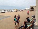 Sea promenade Ostend