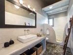 modern bathroom- groundfloor