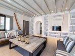 Sea Salt dream villa on Santa Maria beach, Paros