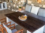 bbq dining table