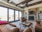 Living Room - Golf Course Views