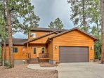 Escape to this immaculate 3-bedroom, 2.5-bathroom Pinetop vacation rental house!