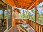 Enjoy soaking up the fresh air from either of the 2 furnished decks.