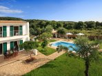 Our brand new, luxury villa with big pool, 500 meters away from the virgin beach of Almiros