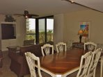 Dining Area with Gulf View!