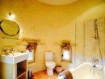 Master bedroom - en-suite bathroom in the tower