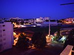 balcony street night view