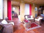 Garden View Suite - living area