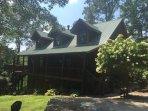 Fightingtown Creek Retreat - Luxury North Georgia Cabin Rental -200'creek access