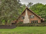Retreat to this luxurious 4-bedroom, 2-bathroom vacation rental chalet in Canandaigua!