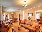 Mission style furniture, antique decorations and pristine hardwood floors welcome you into your next Colorado Springs...