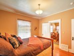 Return inside and drift off to peaceful slumbers in one of the home's 3 comfortable bedrooms.