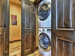 In-unit laundry machines are among the amenities that help make your stay convenient and fun.
