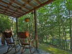 Relax on the front porch and watch the sunrise each morning during your stay at this 1-bedroom, 1-bathroom vacation...