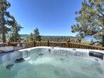 Hot Tub with views of lake