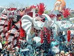 4 days of Carnival in Las Tablas is easy to get to with a 10 minute drive during the day...