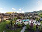Resort Pool and Grounds