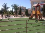 Childrens play area on the complex