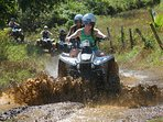 ATV adventures are available about 10 minutes up the road