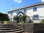 upcott farm house where we can sleep up to 15 guests with upto four dogs and two horses