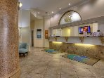 Surfside Resort Lobby 24 hrs. service except in the Winter Months