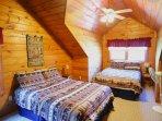 Bedroom 2 with 2 Queen Beds Sleeps 4