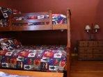 bunk beds in second bedroom
