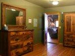 dresser & amoire in master bedroom