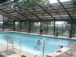 Indoor Pool located next to Outdoor Pool
