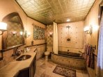 The Royal Bedroom features a luxurious private bathroom.