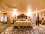 The King's Suite features a king bed, of course!