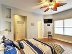 Look forward to ending your days in this spacious bedroom.