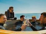 Warm pool. Russian Bania.