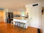 Large kitchen island for food prep & layout.  Onsite laundry in basement.