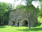 Iron furnace in the local area
